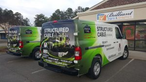 custom fleet vehicle wraps